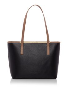 Haileyz multi-coloured small tote bag with pouch
