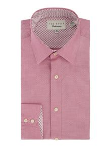 Licatch Polka Dot Slim Fit Formal Shirt
