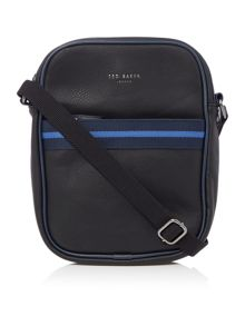 Ted Baker Small Striped Holdall Flight Bag