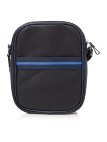 Small Striped Holdall Flight Bag