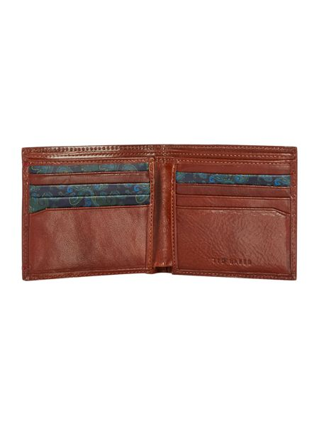 Ted Baker Patterned Bi-Fold Wallet