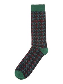 Ted Baker Patterned Dress Socks
