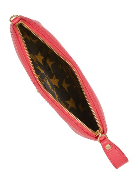 Vivienne Westwood Divina coral small cross body bag