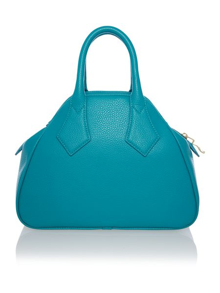 Vivienne Westwood Bow blue small bow dome bag