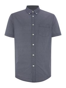 Criminal Miles Geo Print Slim Fit Shirt