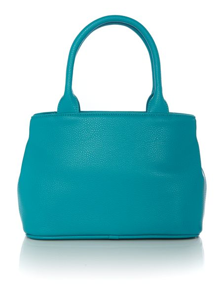 Vivienne Westwood Bow blue small tote bag