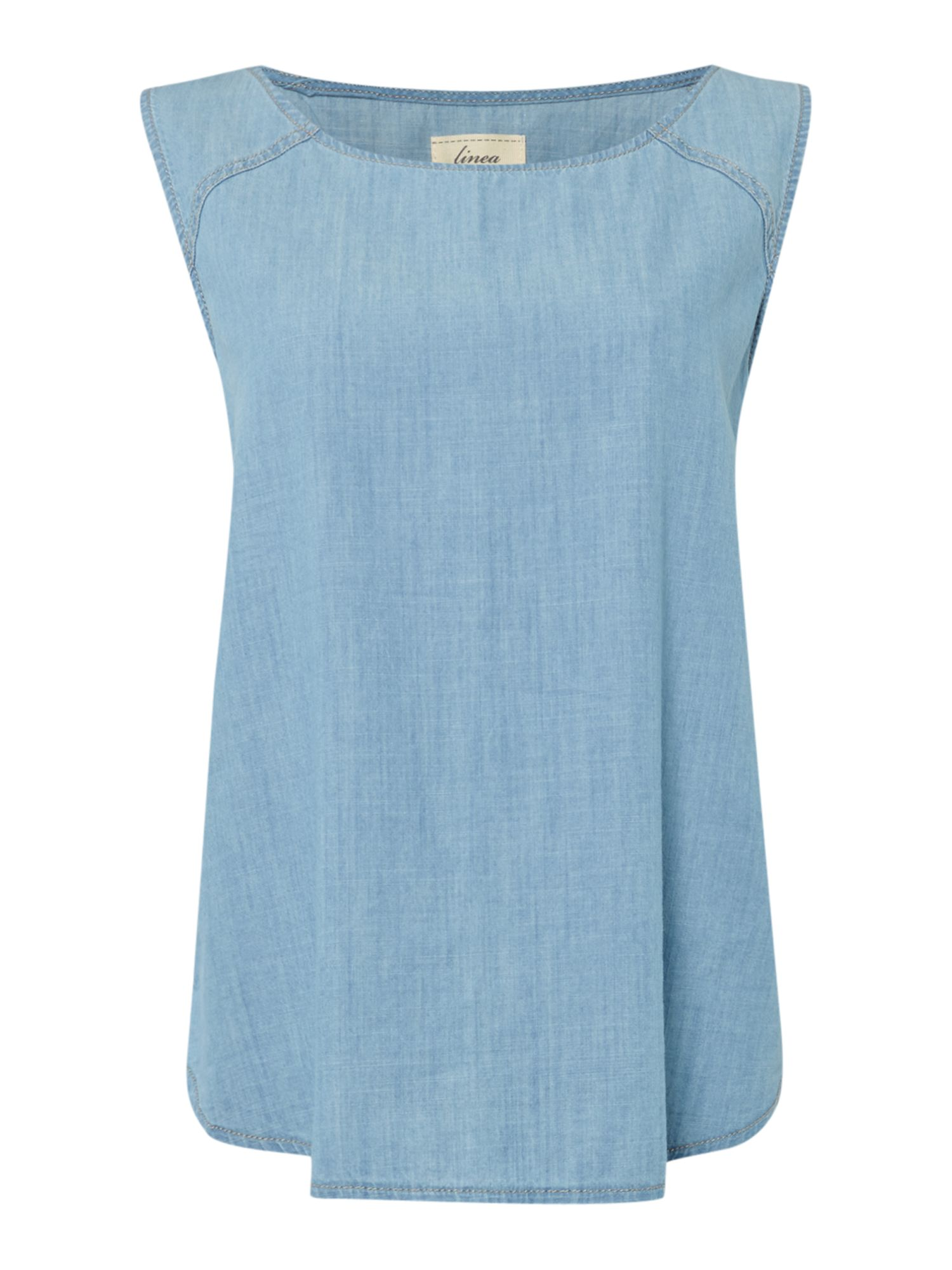 Chambray womens top house of fraser for Chambray top