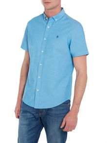 Original Penguin Plain Classic Straight Up Short Sleeve Button Dow
