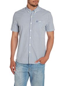 Classic Tric Check Short Sleeve Button Down Shir