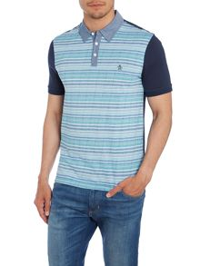 Norman Jaquard Print Regular Fit Polo Shirt