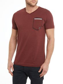 Duck and Cover Hopkin Short Sleeve V-Neck T-shirt