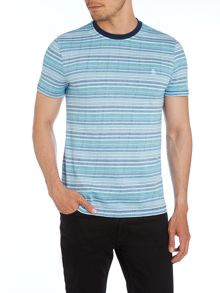 Original Penguin Try Print Crew Neck Slim Fit T-Shirt