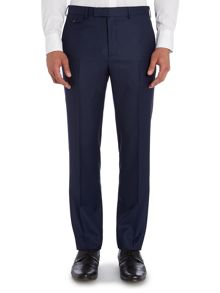 Pin Dot Slim Fit Suit Trousers