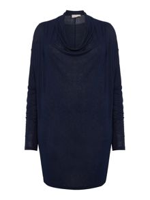 Label Lab Plus size lightweight cowl knit dress