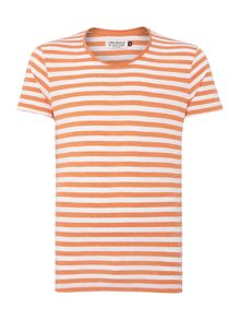 Jack & Jones Stripe Crew Neck Regular Fit T-Shirt