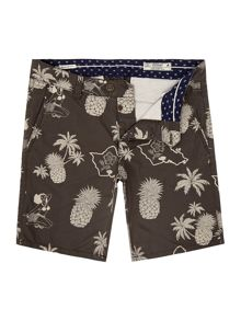 Jack & Jones Printed Cotton Shorts