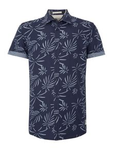 Print Classic Fit Short Sleeve Shirt