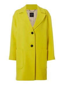 Max Mara Afoso Colour pop virgin wool coat
