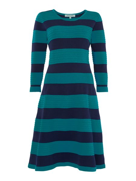 Dickins & Jones Knit Fit & Flare Dress