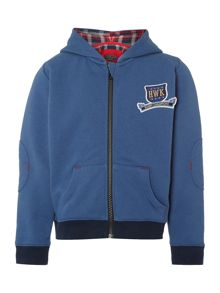 Howick Junior Boys Benjamin Check Lined Hoodie