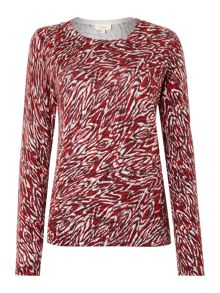 Linea Weekend Cooley Print Jumper