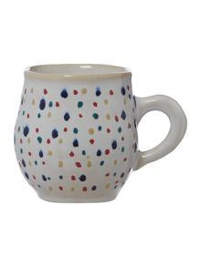 Artisan dotty mug