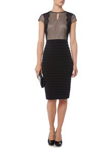 Linea Lace cap sleeve dress