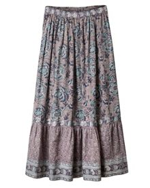 East Arya Tiered Maxi Skirt
