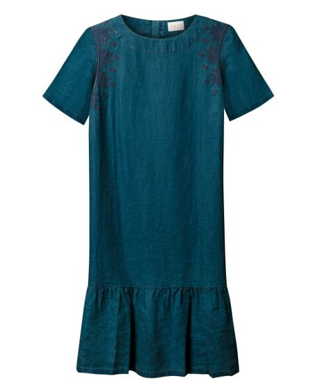 East Embroidered Tunic Dress