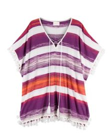 East Space Dye Stripe Kaftan