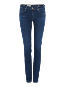 Stilt skinny ankle length jean in coy