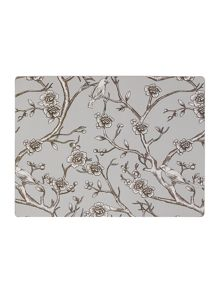 Chinese blossom placemat set of 4