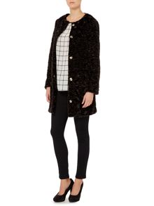 Raiment faux fur coat