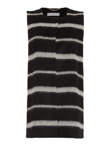 Marella Caprara striped gilet