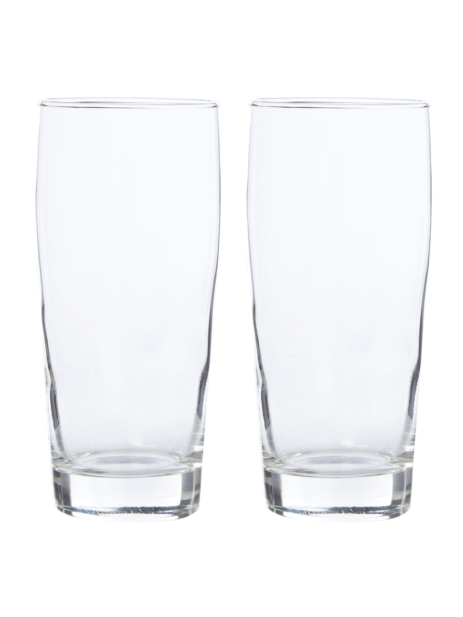 Linea set of 2 classic beer glass review for Quality classic house of fraser