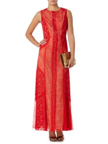 Biba Lace maxi dress