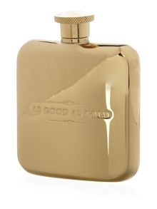 Ted baker gold hip flask