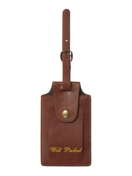 Ted Baker Ted baker brogue luggage tag