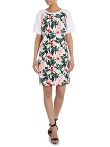 Vince Camuto Jungle print shift dress