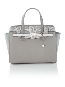 Luella grey tote bag