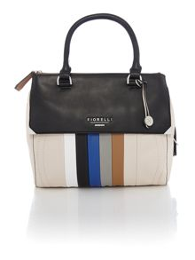 Mia multi-coloured small crossbody tote bag