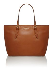 Laurent tan large tote bag