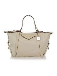 Heston white tote bag