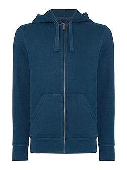 Men's Criminal Darnholme Plain Zip-Through Hoody