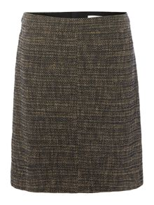 Hugo Boss Manou A-line Boucle Tweed Skirt