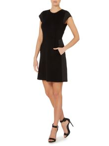 Tallio jersey shift dress
