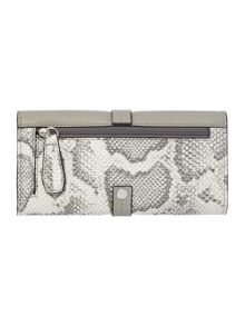 Megan grey large flap over purse