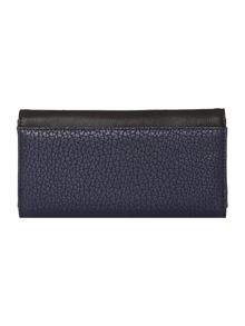 Spencer multi coloured large flap over purse