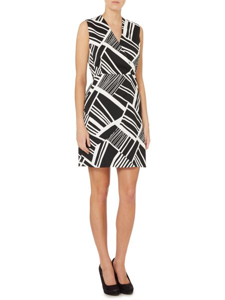 Marella Monochrome print sleeveless dress