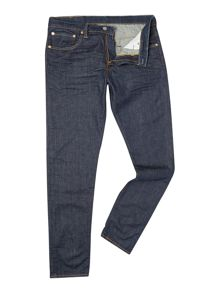 520 Extreme Taper Broken Raw Jean